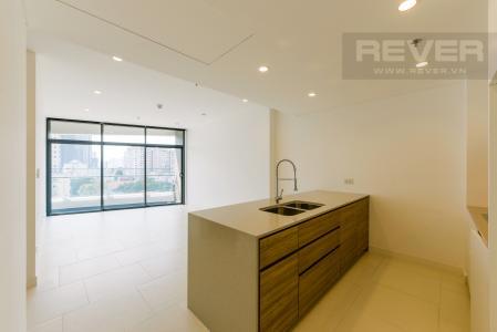 Cho thuê căn hộ City Garden 1 phòng ngủ, diện tích 65m2, tầng trung view mát mẻ