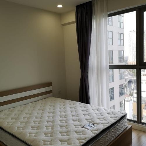 Phòng ngủ căn hộ MASTERI MILLENNIUM Bán căn hộ Masteri Millennium 2PN, diện tích 65m2, đầy đủ nội thất, view hồ bơi và Quận 4
