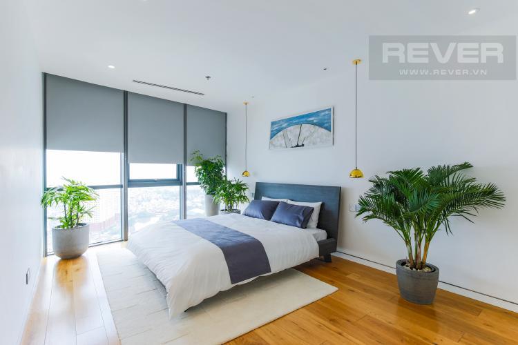Phòng Ngủ 1 Penthouse City Garden tầng cao B2 thiết kế sang trọng, nội thất cao cấp