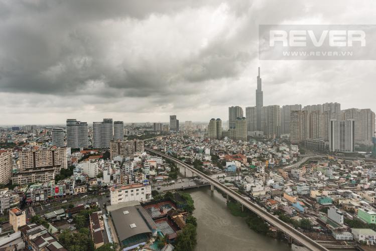 View Căn hộ Vinhomes Golden River tầng trung, tháp Aqua 3, 3PN, full nội thất