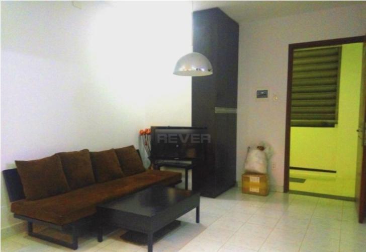 Phòng khách chung cư Vạn Đô Quận 4 Căn hộ chung cư Vạn Đô tầng thấp, đầy đủ nội thất.