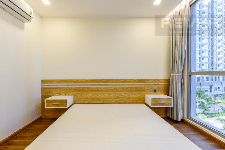 Phòng ngủ 1 Căn hộ Vinhomes Central Park 2 phòng ngủ tầng thấp P7 view nội khu