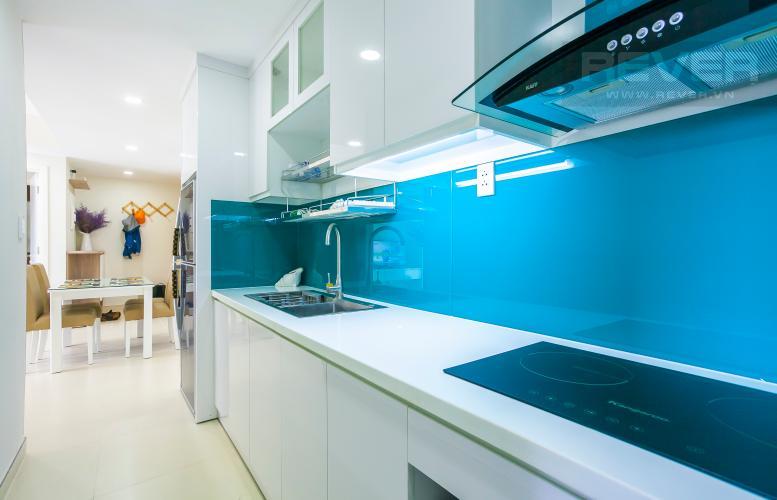 Nhà Bếp Căn hộ Masteri Thảo Điền 2 phòng ngủ tầng thấp T5 view hồ bơi