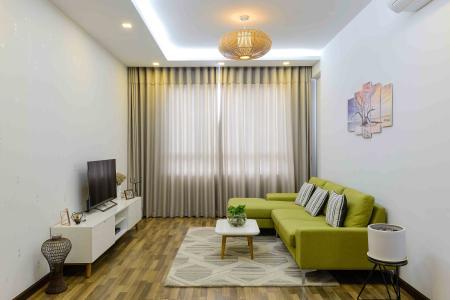 Bán căn hộ Tropic Garden tầng trung tháp C1, 2PN 2WC, đầy đủ nội thất, hướng Đông Nam mát mẻ