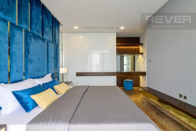 Phòng Ngủ 1 Căn góc Vinhomes Central Park tầng cao Park 2 thiết kế đẹp, tiện nghi