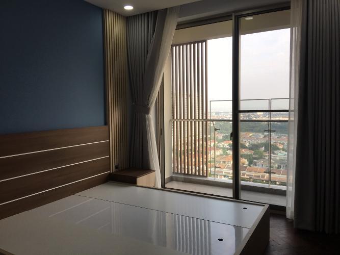 Phòng ngủ căn hộ PHÚ MỸ HƯNG MIDTOWN midtown Cho thuê căn hộ Phú Mỹ Hưng Midtown 2PN, diện tích 89m2, đầy đủ nội thất, ban công Đông Nam