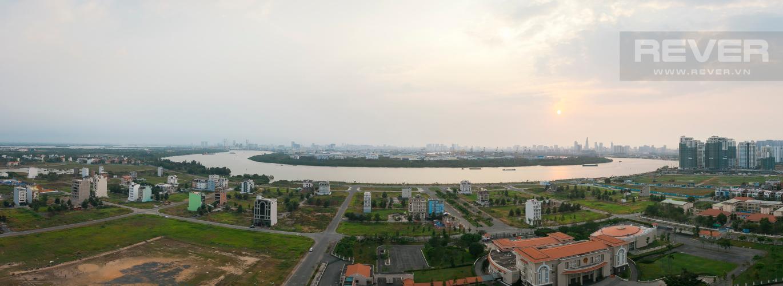 View Căn hộ Vista Verde 3 phòng ngủ tầng trung tháp Orchid view sông