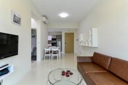 Cho thuê căn hộ The Ascent 2PN, tầng thấp, đầy đủ nội thất, view hồ bơi và Landmark 81