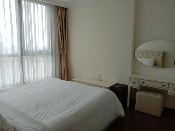 Phòng ngủ Vinhomes Central Park Căn hộ Vinhomes Central Park tầng cao, nội thất sang trọng.