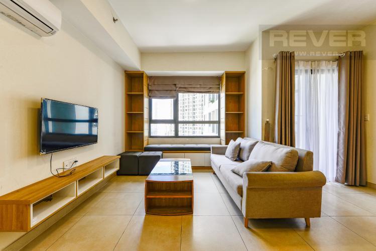 Phòng khách Căn hộ Masteri Thảo Điền 2 phòng ngủ tầng cao T3 nội thất đầy đủ