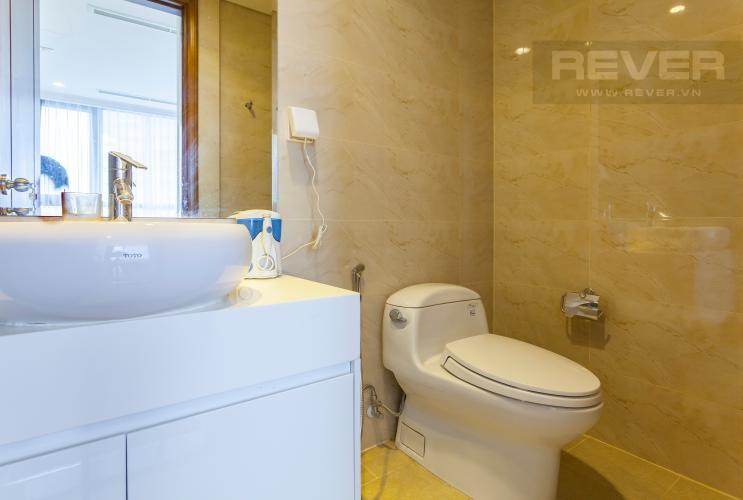 Phòng tắm 2 Căn hộ Vinhomes Central Park tầng cao Landmark 1 view đẹp