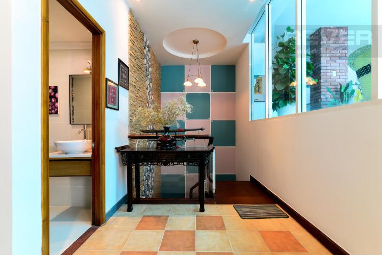 Khu Vực Trang Trí Cho thuê căn hộ chung cư Phúc Thịnh diện tích 196m2 3PN 3WC, nội thất cao cấp, view thành phố