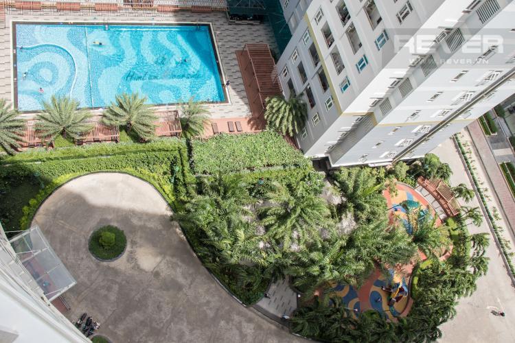 View Nội Khu Bán căn hộ Him Lam Riverside 2PN, diện tích 111m2, nội thất cơ bản, view hồ bơi nội khu