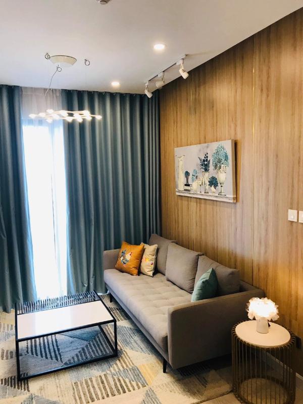 c611d95cbdd95a8703c8 Cho thuê căn hộ Saigon Royal 1 phòng ngủ, tầng 23, tháp A, đầy đủ nội thất, hướng Tây Bắc