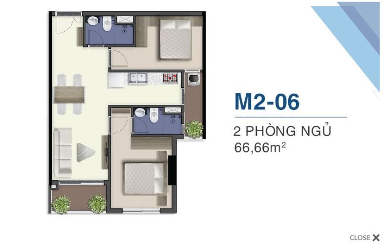 mặt bằng căn hộ q7 saigon riverside Căn hộ Q7 Saigon Riverside nội thất cơ bản, view thành phố.
