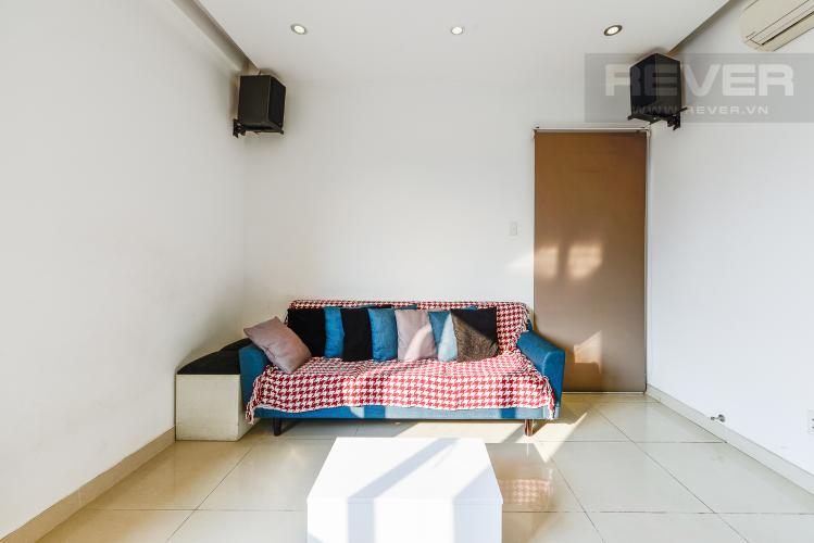 Phòng Khách Căn hộ Chung cư SGC 2 phòng ngủ, đầy đủ nội thất