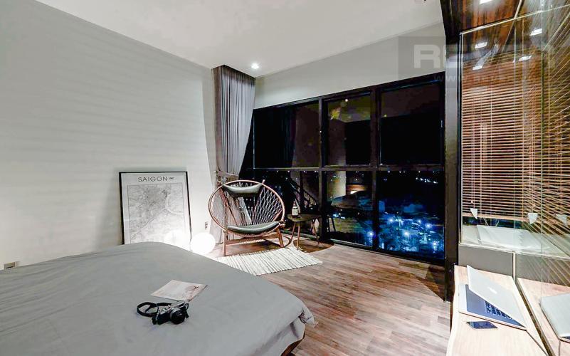 Phòng Ngủ 1 Bán căn hộ The Ascent tầng trung, 2PN, nội thất đầy đủ