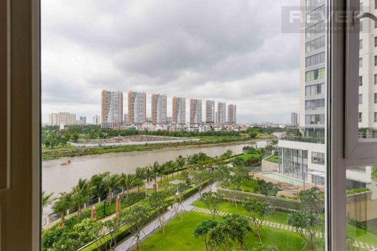 View Cho thuê căn hộ Diamond Island - Đảo Kim Cương 2PN, tháp Brilliant, đầy đủ nội thất, view trực diện sông.