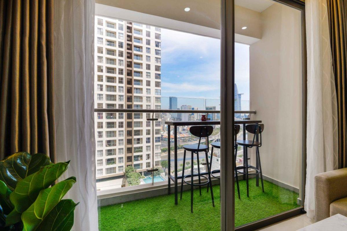 2f9d83514faaa9f4f0bb Bán căn hộ Masteri Millennium 2PN, block B, đầy đủ nội thất, view Bitexco