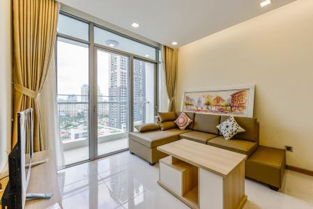 Cho thuê căn hộ Vinhomes Central Park tầng trung, 2PN, đầy đủ nội thất, view đẹp
