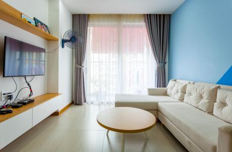 Căn hộ Tropic Garden 2 phòng ngủ tầng trung, view nội khu