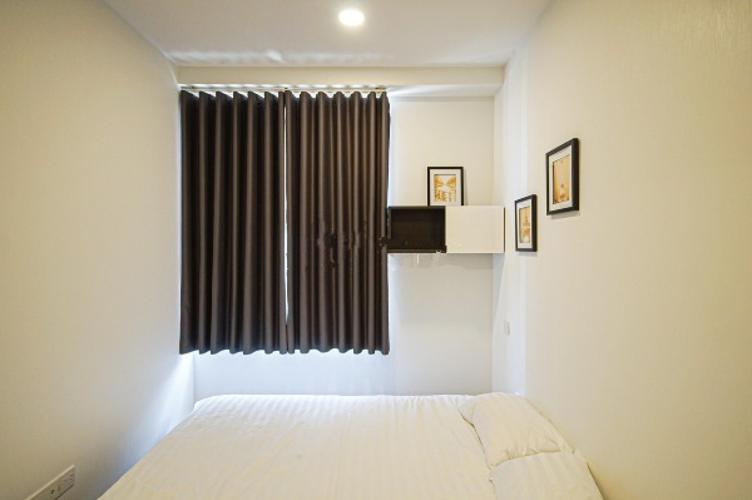 Phòng ngủ căn hộ Icon 56 Căn hộ Icon 56 nội thất đầy đủ 3 phòng ngủ, view thành phố.