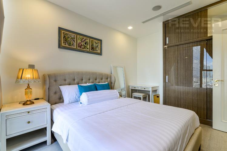 Phòng Ngủ Cho thuê căn hộ Vinhomes Golden River tầng cao, 1PN, đầy đủ nội thất