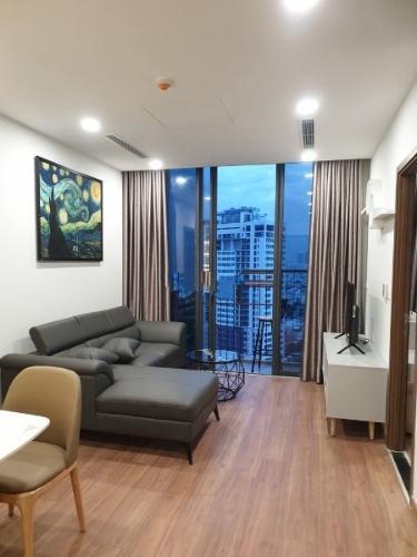 Căn hộ Eco Green Saigon  tầng trung, view nội khu yên tĩnh.