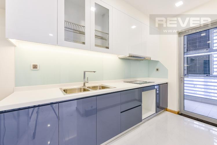 Bếp Căn hộ Vinhomes Central Park 2 phòng ngủ tầng thấp P3 view hồ bơi