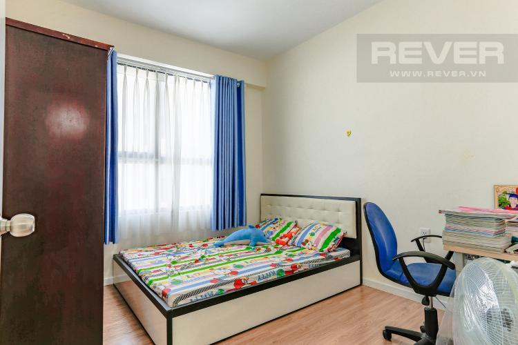 Phòng Ngủ 2 Căn hộ M-One Nam Sài Gòn tầng cao diện tích 62,75m2, nội thất đầy đủ.