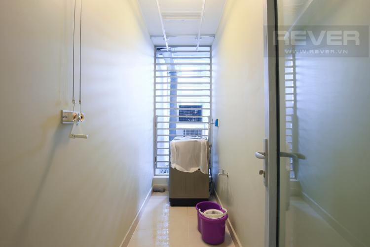 Phòng giặc ủi Căn hộ Vinhomes Central Park 2 phòng ngủ, tầng cao P6, đầy đủ nội thất