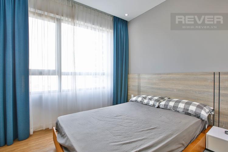 Phòng Ngủ 1 Bán căn hộ Masteri Thảo Điền tầng trung, 2PN, view hồ bơi và bao quát thành phố