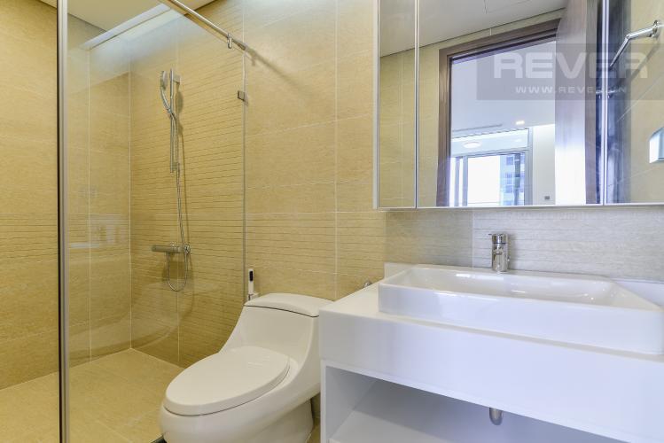 Phòng Tắm 2 Căn hộ Vinhomes Central Park tầng trung Park 3 view trực diện sông