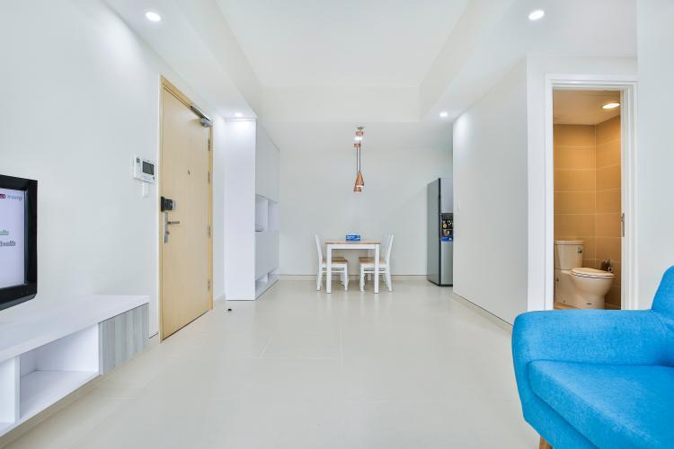 Phòng Khách Căn hộ Masteri Thảo Điền tầng thấp T5 đầy đủ nội thất, mới 100%