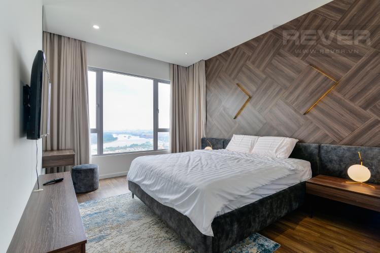 Phòng Ngủ 1 Cho thuê căn hộ Estella Heights 3PN, tầng cao, đầy đủ nội thất, view Xa lộ Hà Nội