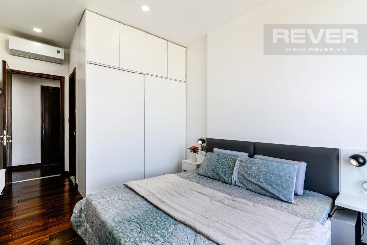 Phòng Ngủ 1 Căn hộ Garden Gate 3 phòng ngủ tầng cao nội thất đầy đủ