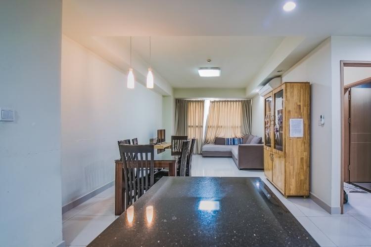 Căn hộ The Eastern 2 phòng ngủ tầng trung tháp A đầy đủ nội thất