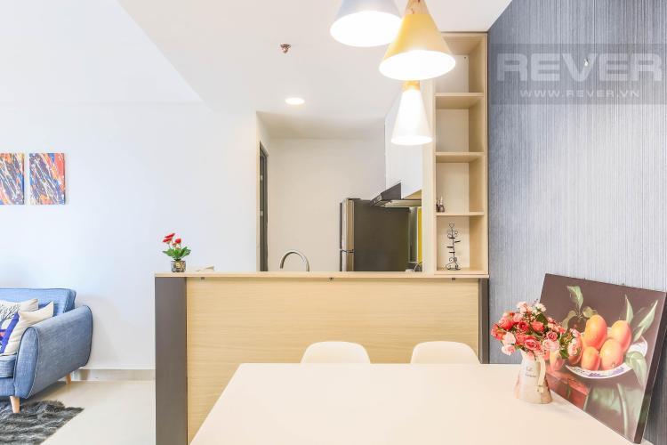 Góc bàn ăn gần khu bếp Cho thuê căn hộ Masteri Thảo Điền 2PN, tầng cao, tháp T2A, đầy đủ nội thất, hướng Tây Bắc