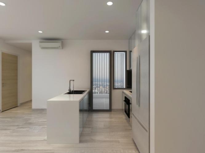Phòng bếp căn hộ Riviera Point Căn hộ Riviera Point tầng 28 nội thất đầy đủ, view thành phố tuyệt đẹp.