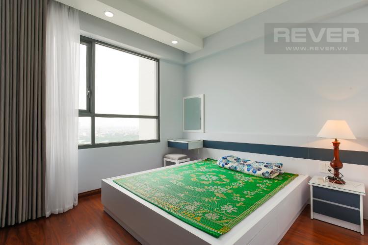 Phòng Ngủ 1 Căn hộ The Gold View 2 phòng ngủ tầng trung A3 nội thất đầy đủ