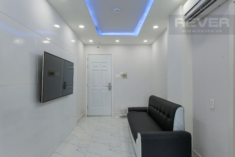 Phòng Khách Căn hộ dịch vụ đường Trần Quang Diệu 1 phòng ngủ diện tích 50m2