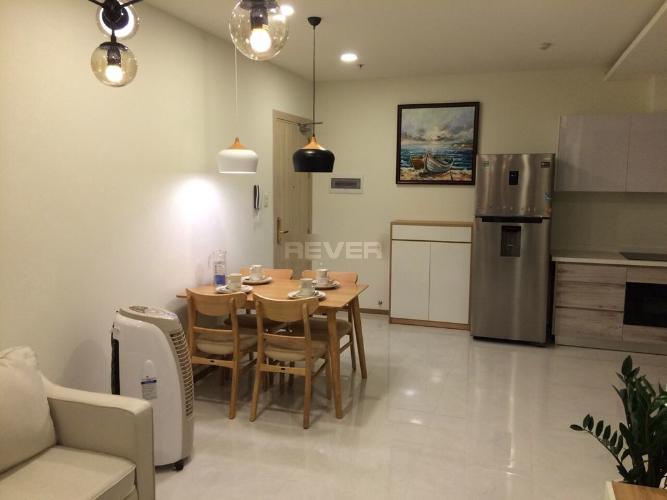 Bếp  căn hộ Riva Park Căn hộ Riva Park tầng trung đầy đủ nội thất, màu sắc trung tính.