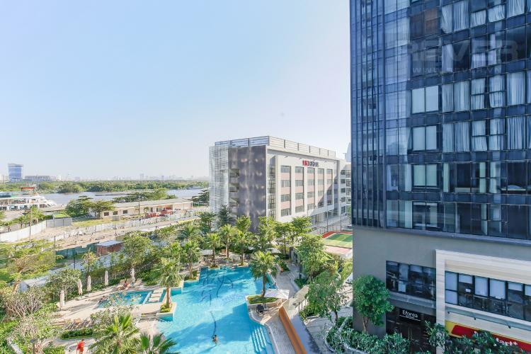 View Căn hộ Vinhomes Golden River tầng tháp, 2PN đầy đủ nội thất