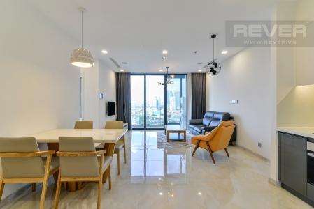 Bán căn hộ Vinhomes Golden River 2PN, tháp The Aqua 1, đầy đủ nội thất, view trực diện sông Sài Gòn
