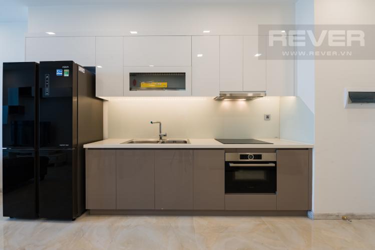 Bếp Căn hộ Vinhomes Golden River tầng cao 1PN, nội thất đầy đủ
