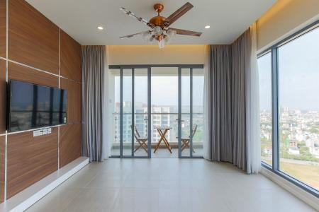 Cho thuê căn hộ Diamond Island 3PN, tầng cao, đầy đủ nội thất, view sông thoáng mát