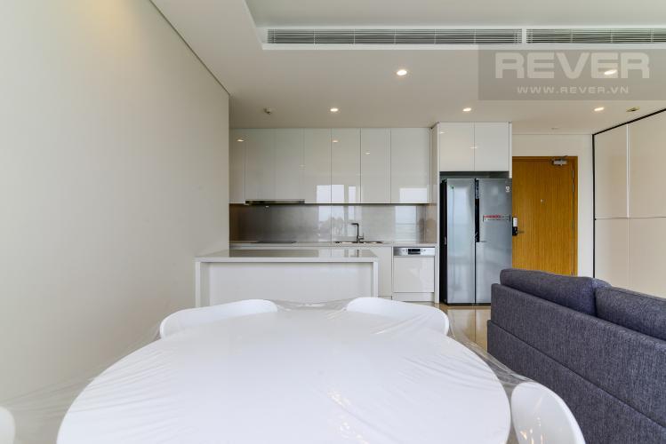 Phòng Ăn & Bếp Cho thuê căn hộ Diamond Island - Đảo Kim Cương 2PN, tháp Maldives, đầy đủ nội thất, view sông thoáng mát