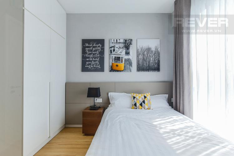 Phòng Ngủ 2 Căn hộ Masteri Millennium tầng cao 3PN đầy đủ nội thất