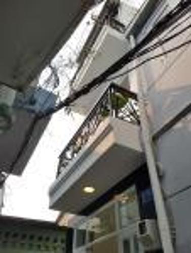 Bán nhà hẻm 3 tầng đường Tăng Bạt Hổ, Q. Bình Thạnh diện tích 3x4m, thiết kế hiện đại, giao nhà ngay.