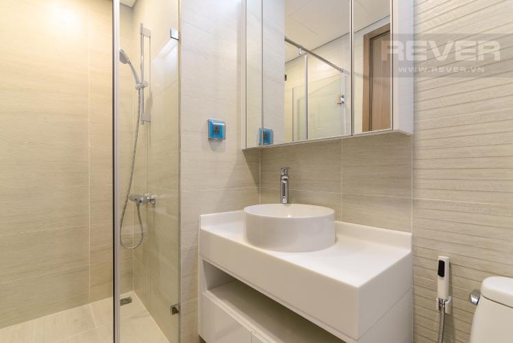 Phòng Tắm 1 Căn hộ Vinhomes Central Park tầng trung Park 3 view trực diện sông